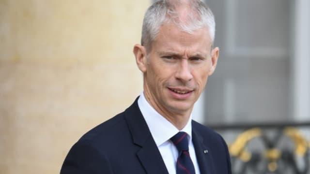 Le ministre de la Culture Franck Riester dans la cour de l'Elysée, le 7 novembre 2019