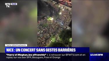 Près de 5000 personnes rassemblées à Nice au concert du DJ The Avener