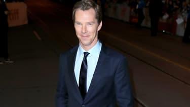 Benedict Cumberbatch en septembre 2017