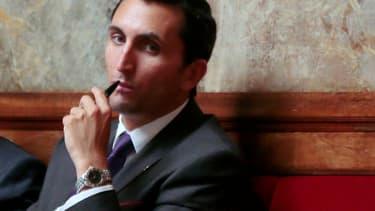Le député UMP du Vaucluse Julien Aubert