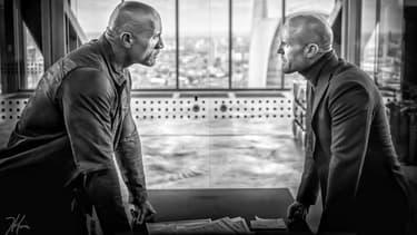 Dwayne Johnson et Jason Statham