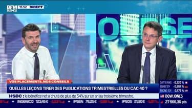 François Monnier (Investir) : quelles leçons tirer des publications trimestrielles du CAC 40 ? - 27/10
