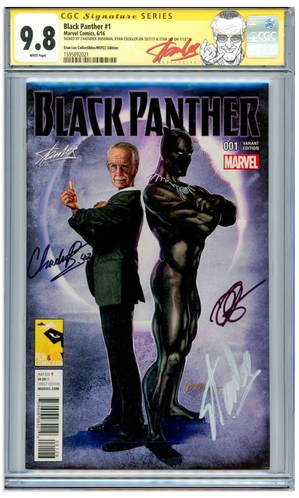Le comics Black Panther mis aux enchères