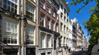 La filiale d'Amsterdam est installée dans un immeuble de location temporaire de bureaux