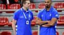 Guillaume Gille et Didier Dinart
