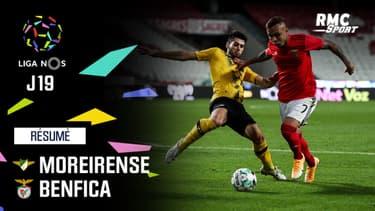 Résumé : Moreirense 1-1 Benfica – Liga portugaise (J19)