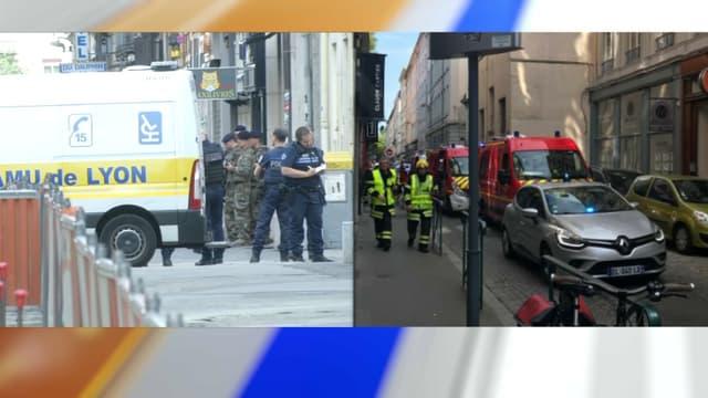 Une explosion a eu lieu près de la place Bellecour, à Lyon, ce vendredi.