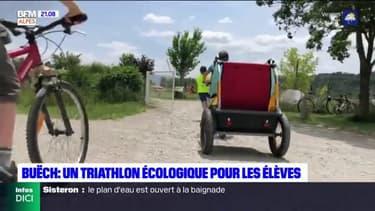 Buëch : un triathlon écologique pour les élèves