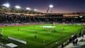 Le soleil se couche sur le Stadium