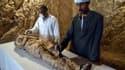 Une momie découverte à Louxor