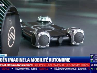 Citroën imagine la mobilité autonome de demain avec son concept Skate