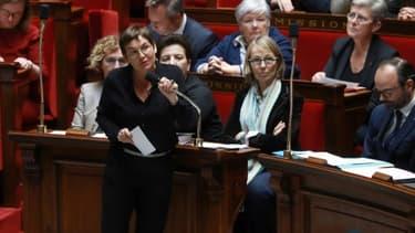 La ministre des Outre-mer, Annick Girardin, à l'Assemblée nationale à Paris le 6 mars 2018