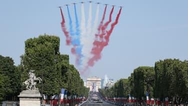 La Patrouille de France le 14 juillet.