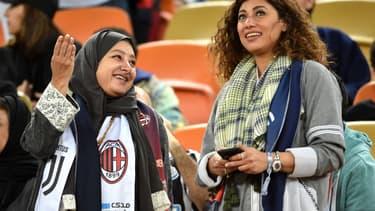 15.000 femmes ont assisté à la Supercoupe d'Italie à Djeddah (Arabie Saoudite) mercredi.