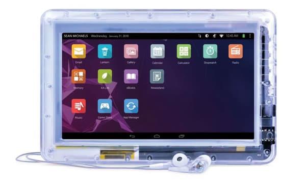 Une tablette fournie par JPay