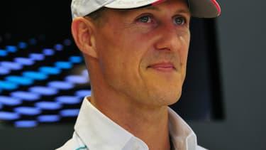 Le pilote allemand Michael Schumacher, le 6 septembre 2012.
