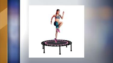 L'image de présentation du trampoline en question.
