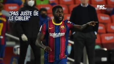 Barça : Koeman regrette les erreurs d'Umtiti mais ne l'accable pas