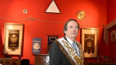 Philippe Charuel, Grand-Maître de la Grande Loge de France le 18 septembre 2015.