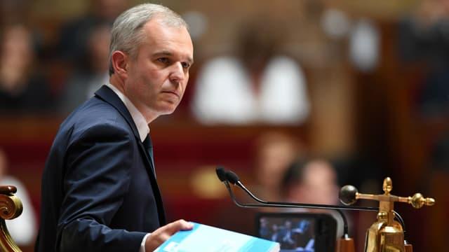 François de Rugy, le président de l'Assemblée nationale, au perchoir le 12 juillet 2017