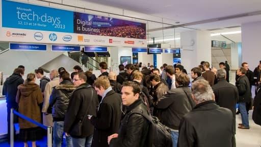 Les Microsoft Techdays se sont tenus du 11 au 14 février 2013 au salon des Congrès à Paris.