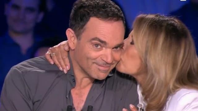 """Yann Moix et Nicole Calfan sur le plateau de """"On n'est pas couché"""", samedi 30 juin."""