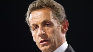 L'ancien président Nicolas Sarkozy, dont le nom est à présent cité dans plusieurs affaires.