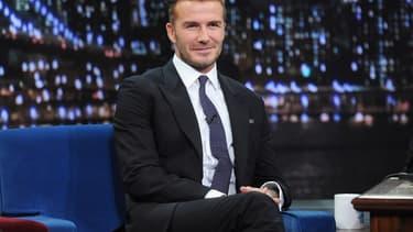 David Beckham a depuis longtemps capitalisé sur son image.