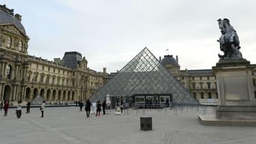 L'esplanade du Louvre a été choisie par Emmanuel Macron, pour fêter sa victoire s'il est élu au second tour de l'élection présidentielle.