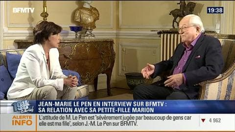 Jean-Marie Le Pen face à Ruth Elkrief (2/2)
