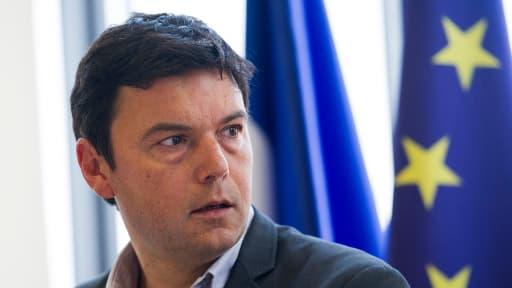 """La """"révolution fiscale"""" de l'économiste français Thomas Piketty trouve un public Outre-Atlantique."""