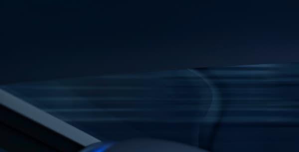 Un affichage tête haute façon projection holographique.