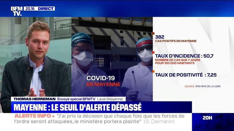Coronavirus: le seuil d'alerte en Mayenne est dépassé