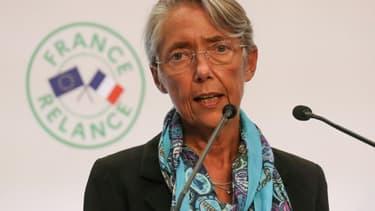 Elisabeth Borne le 3 septembre 2020 lors de la présentation du plan de relance
