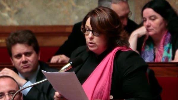 Sophie Errante à l'Assemblée nationale, le 9 juillet 2014.