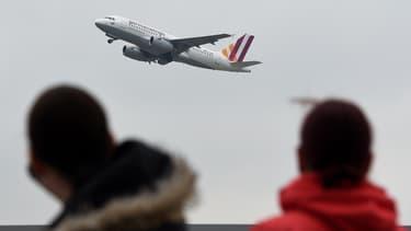Un Airbus de la compagnie Germanwings, au départ de Düsseldorf, en mars 2015. (Illustration)