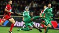 Nouveau doublé pour le Français du Panathinaikos, samedi dans le championnat grec, face à Xanthi (2-1).