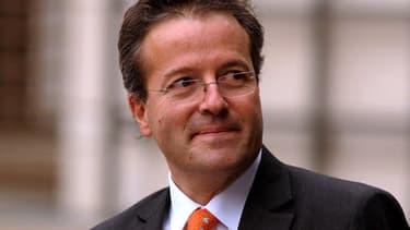 Martin Hirsch, le directeur de l'AP-HP, le 4 décembre 2013 au ministère de l'Economie.