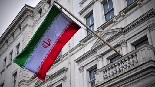Image d'illustration du drapeau iranien.
