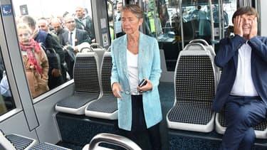 Élisabeth Borne, ministre des Transports, et Nicolas Hulot, ministre de la Transition écologique et solidaire.