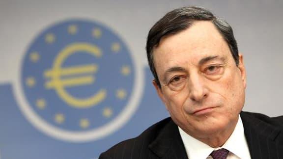 """Mario Draghi a évoqué un """"problème plus large que la politique monétaire""""."""