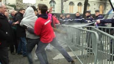 Les débordements en marge de la manifestation du 24 mars dernier.