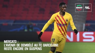 Mercato : L'avenir de Dembélé au FC Barcelone reste encore en suspens