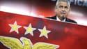 Le président du Benfica Lisbonne, Luis Filipe Vieira