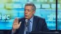 Henri Guaino, député UMP des Yvelines, ce lundi chez Jean-Jacques Bourdin.