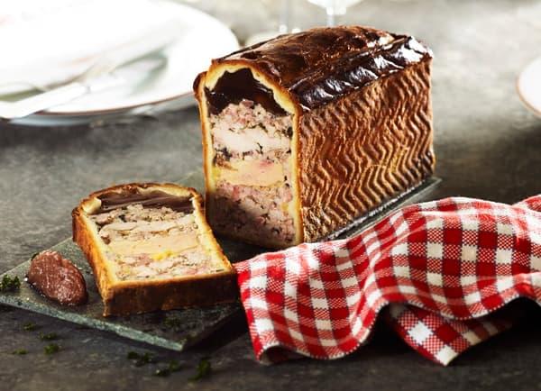 Le pâté en croute au foie gras et ris de veau de Joseph Viola