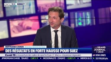 Bertrand Camus (Suez) : Des résultats en forte hausse pour Suez - 29/04