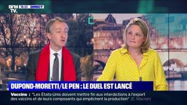 Régionales : le duel est lancé entre Marine Le Pen et Eric Dupond-Moretti - 08/05