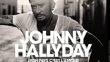 Pochette de l'album posthume de Johnny Hallyday