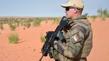 Un soldat de la force Barkhane au Mali en 2016.